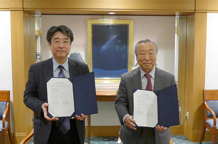 慶應義塾大学大学院法務研究科との協力協定締結
